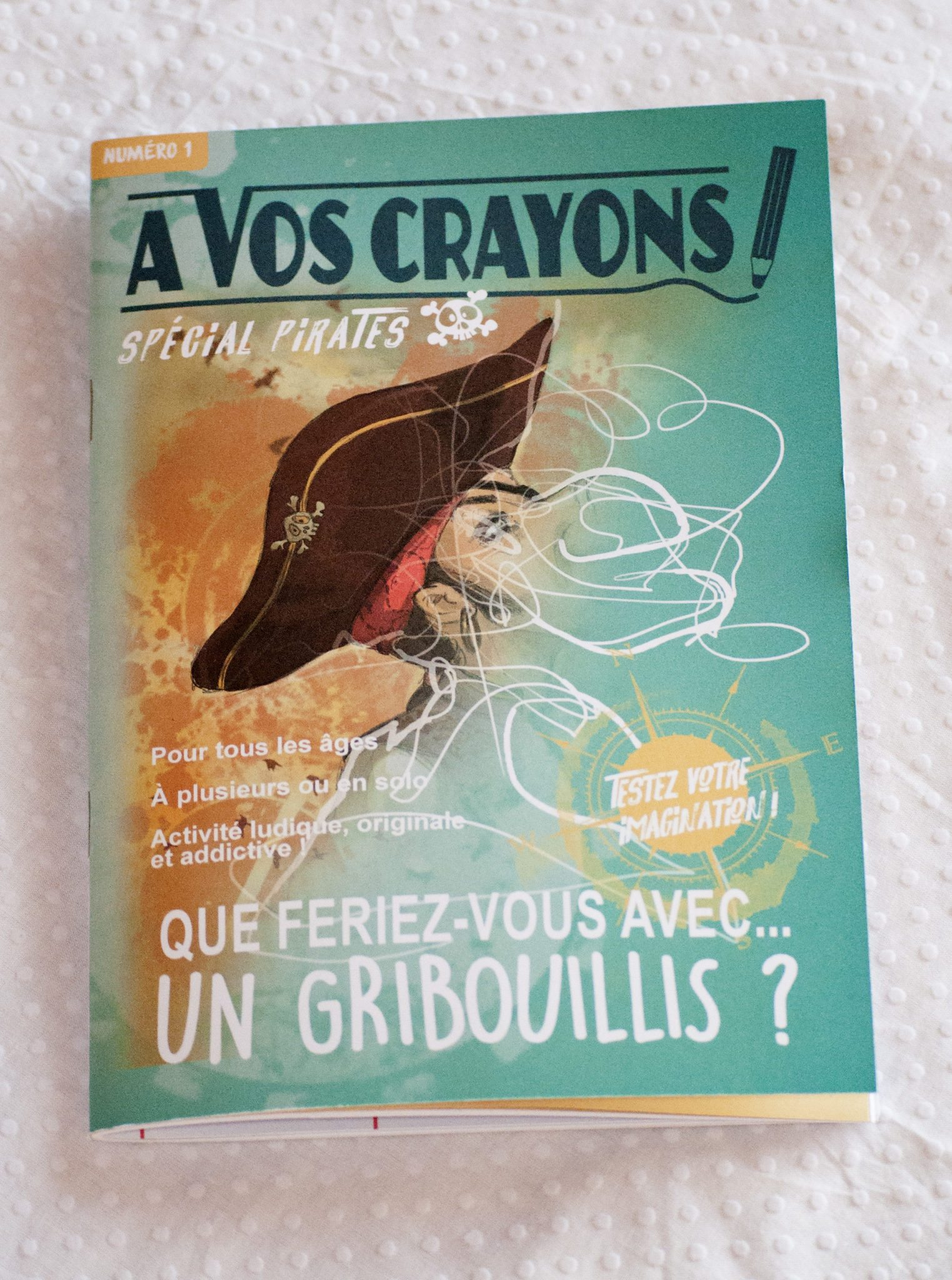 A vos crayons! Spécial Pirates